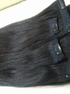 CLIP IN HAIR 16 INCHES VIETNAM REMY STRAIGHT HAIR