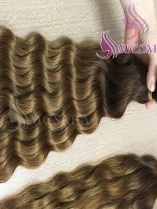 16 inches tape hair extensions dark brown color