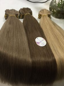 VIETNAM HAIR EXTENSION _TAPE HAIR 22 INCHES STRAIGHT