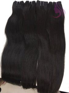 26 INCHES WEAVES STRAIGHT HAIR EXTENSIONS BLACK