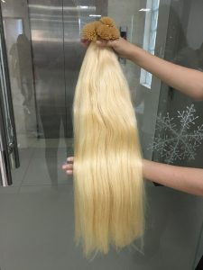 I TIPS STRAIGHT HAIR EXTENSIONS 24 INCHES COLOR 613