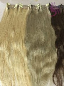 Clip in hair extensions 24 inches