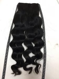 VIETNAM HAIR PONYTAIL BODY WAVY  COLOR 1B