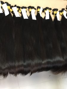 STRAIGHT BULK VIRGIN HIGH QUALITY HUMAN HAIR 24 INCHES