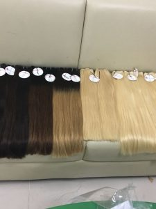 STRAIGHT WEFT MACHINE HIGH QUALITY HUMAN HAIR VARIOUS COLORS