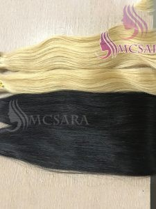 26 inches tape in straight hair extensions