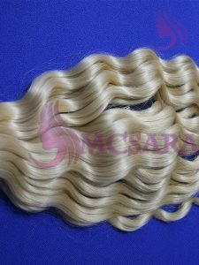 28 inches tape  in hair extensions blonde color