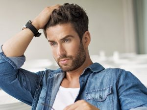Hair care routine daily for men