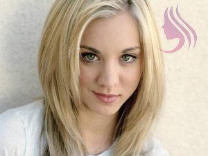 STRAIGHT HAIR EXTENSIONS BLONDE COLOR