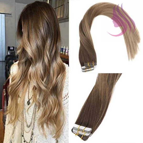 Everything You Need To Know About Invisible Tape In Hair Extensions