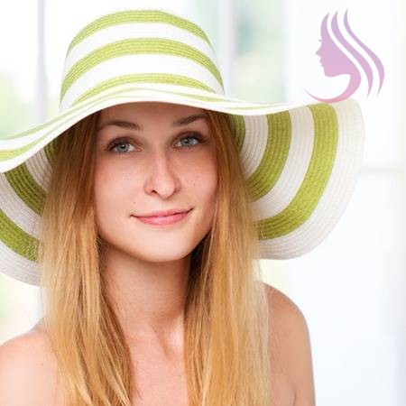 WAY TO PROTECT HAIR FROM SUN DAMAGE