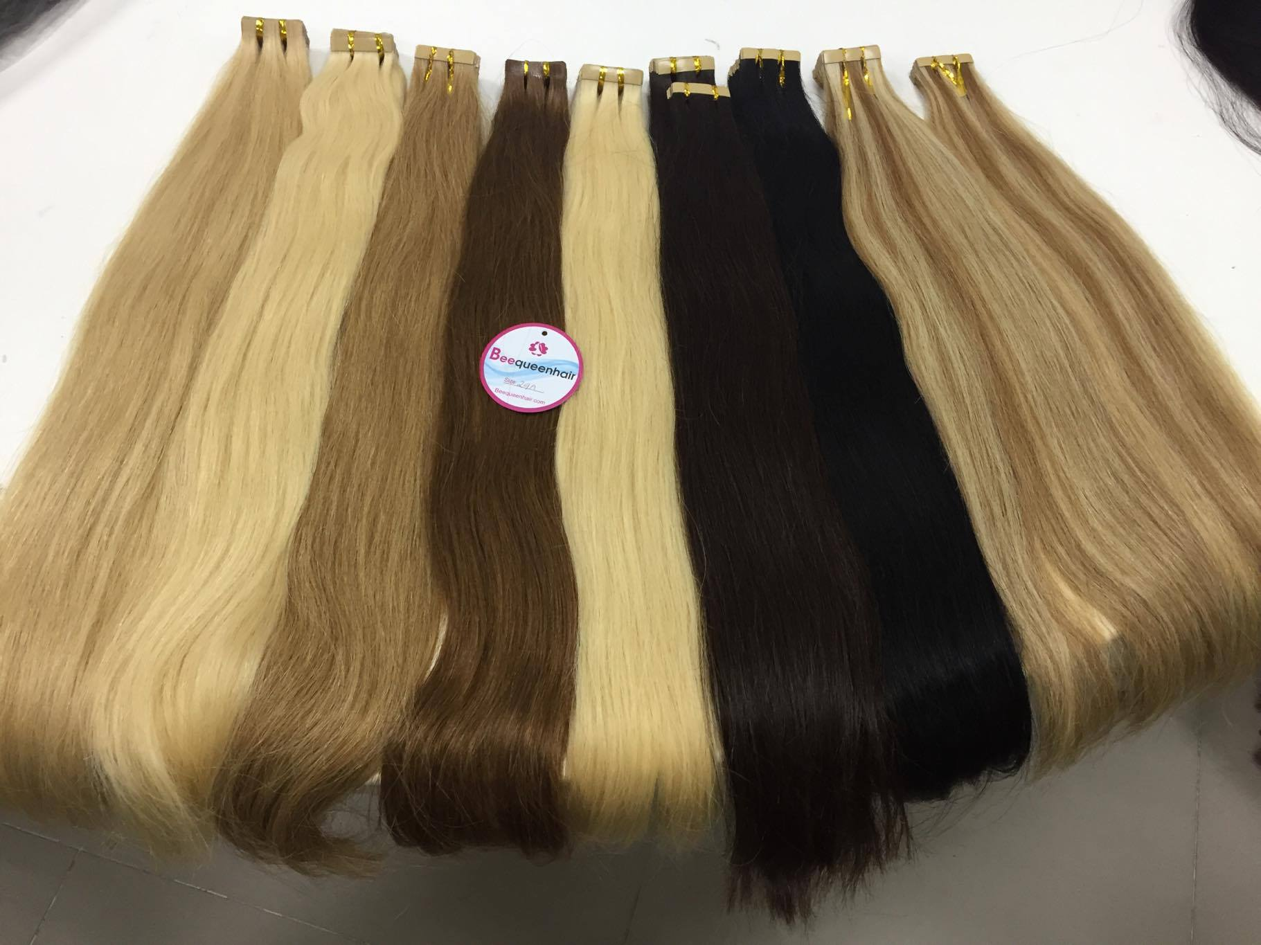 Tape extensions care